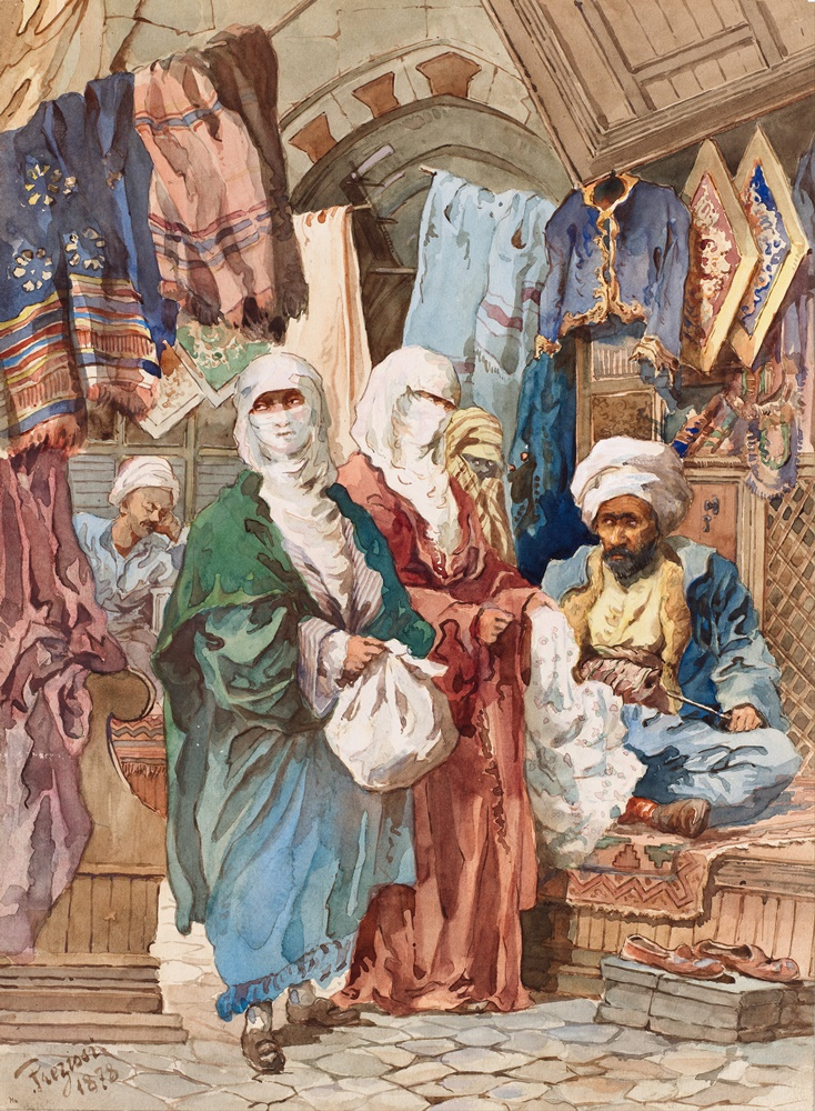 Amadeo_Preziosi_-_The_Silk_Bazaar_-_Google_Art_Project